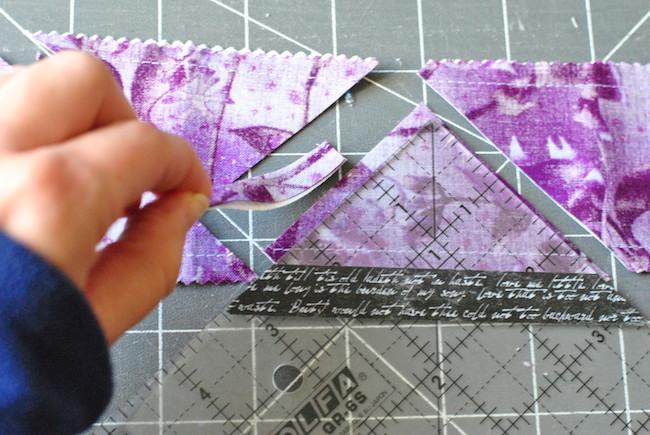 Discard Fabric Scrap