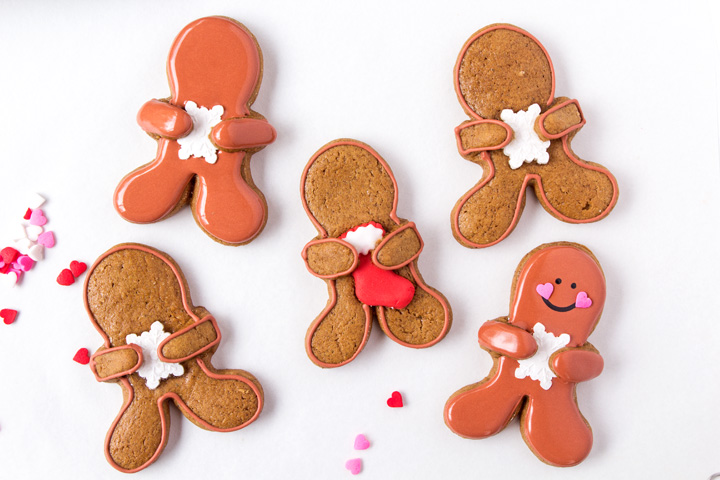 How to Make Cute Gingerbread Men Frosting