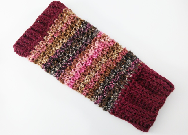 How to crochet leg warmers first one finished