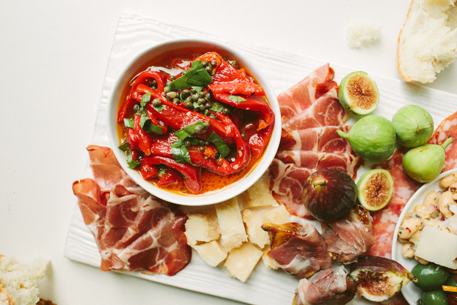 Quick Appetizers Antipasto Platter