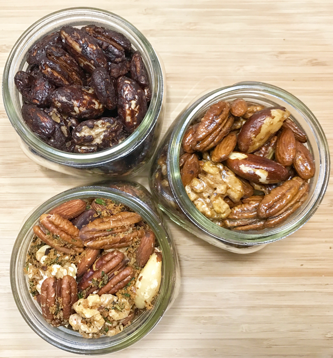 Quick Appetizers Nuts