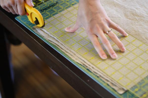 Cut Fabric Edge