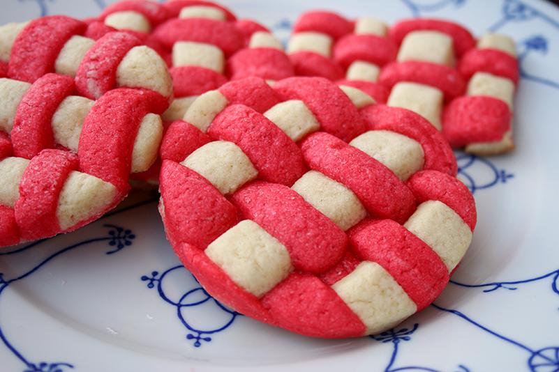 Basket weave cookies