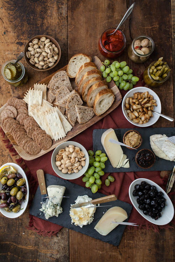 Quick Appetizers Cheese Plate