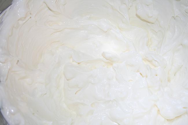 Noodle Kugel Dairy mixture