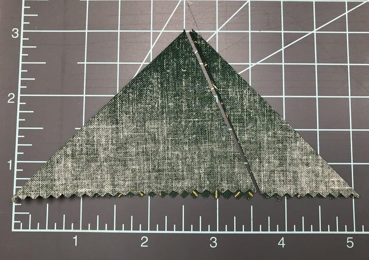 Trim triangle
