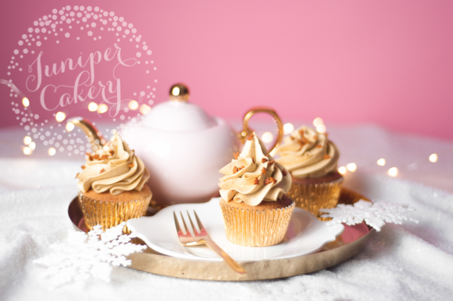 How to make cute gingerbread cupcakes