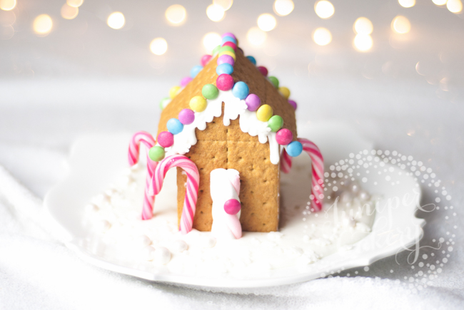 How to build a graham cracker gingerbread house