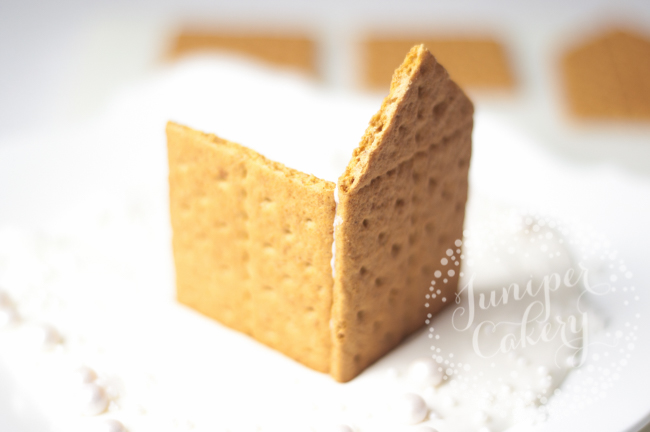 Find out how to make a graham cracker gingerbread house