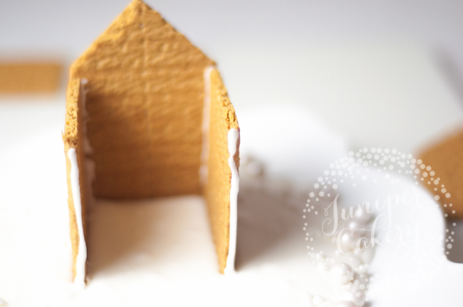Find out how to make a graham cracker gingerbread house for Christmas