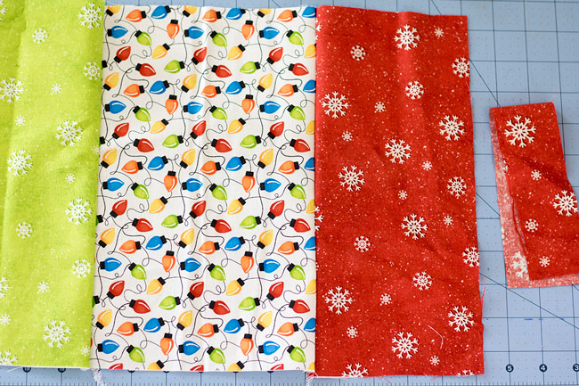 sew placemat front