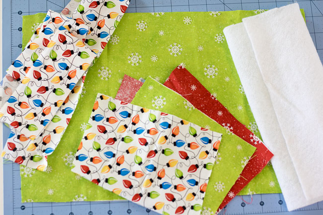 Supplies needed for placemat