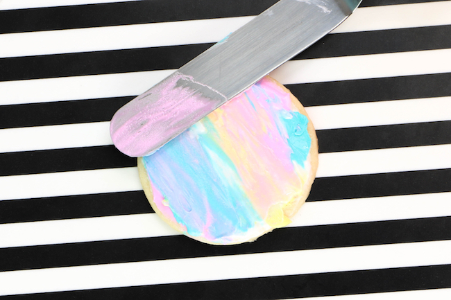 Spreading the Icing to Smear the Colors   Erin Gardner