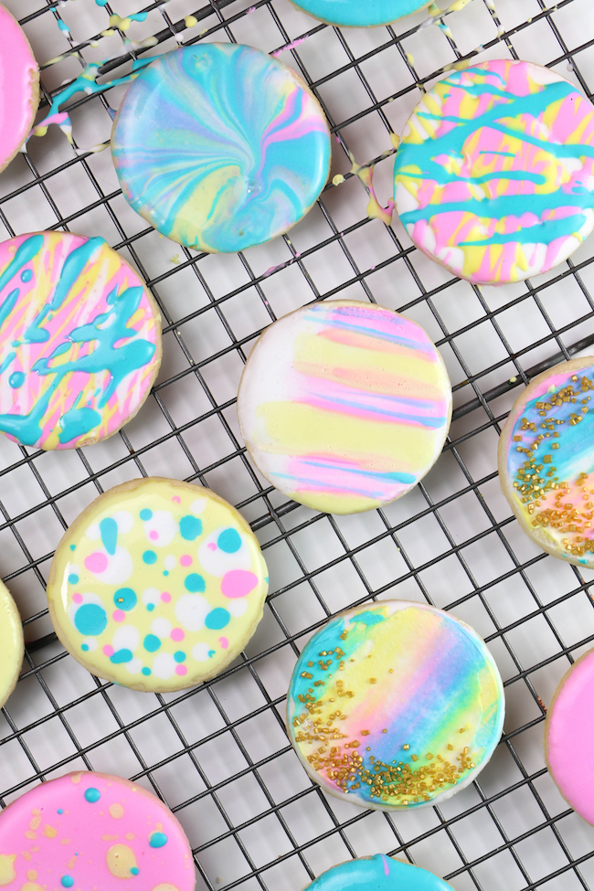 Iced Sugar Cookies   Erin Gardner