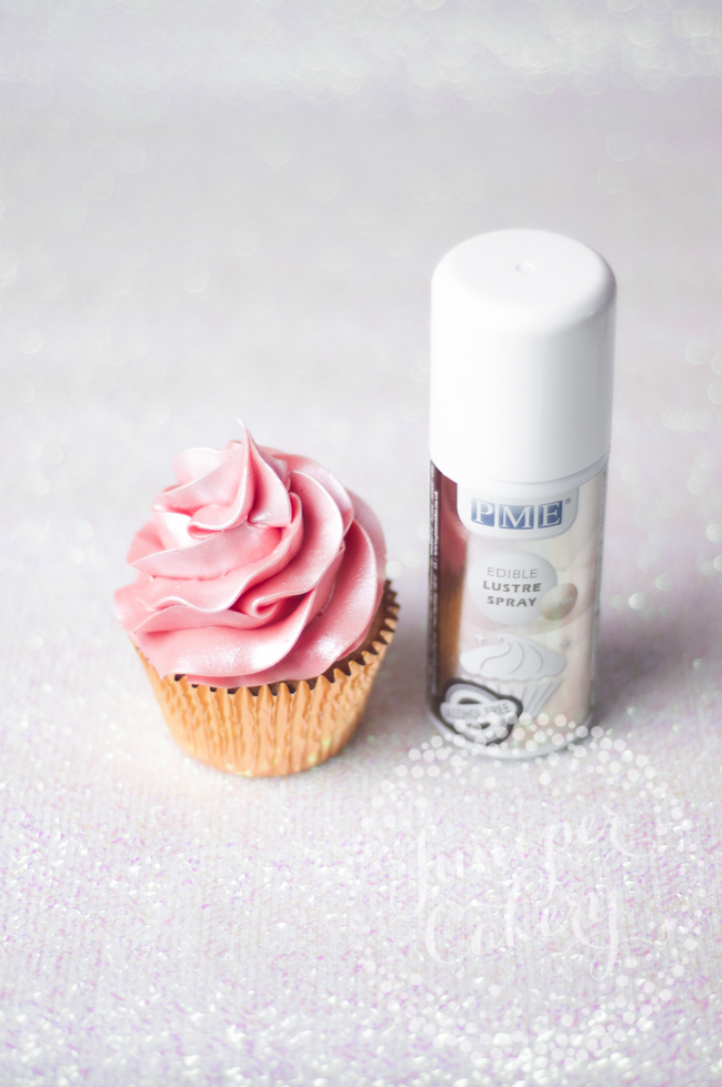 How to easily add sparkle to your buttercream