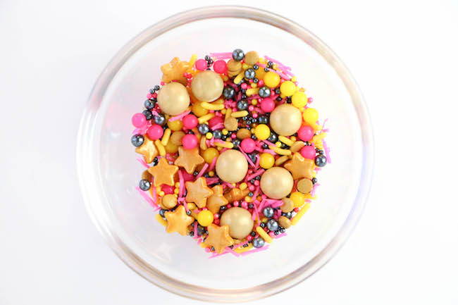 Trial Run of Larger Sprinkle Mix | Erin Gardner