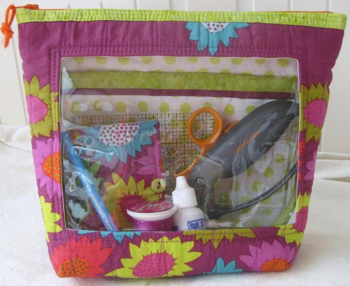 DIY sewing bag