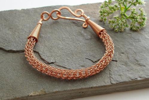 6 Loop Viking Knit Bracelet