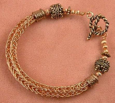 Viking Knitting - Bracelet