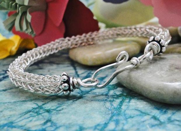 Viking Knitting Bracelet