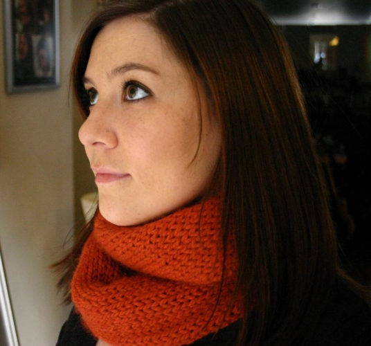 Infinity Cowl, Knitting Pattern on Bluprint.com