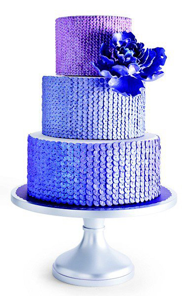 Sequin Cake by Sweet Element Cakes