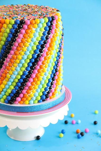 Sixlets Sweet Sixteen Cake