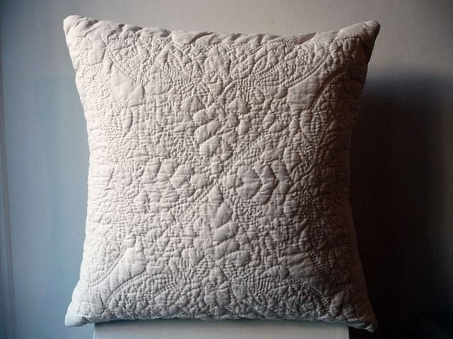 Hand-Quilted Pillow