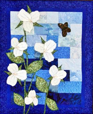 Wall Hanging Art Quilt