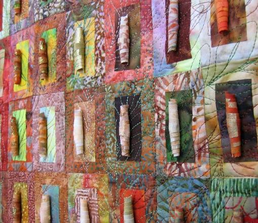 Chrysalis Art Quilt Pattern
