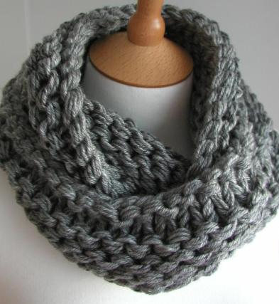 Free Infinity Scarf Knit Pattern
