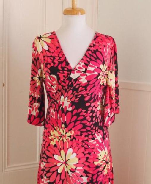 Free Faux Wrap Dress Pattern