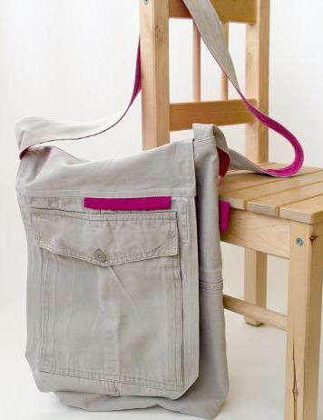 Free Sewing Messenger Bag Pattern