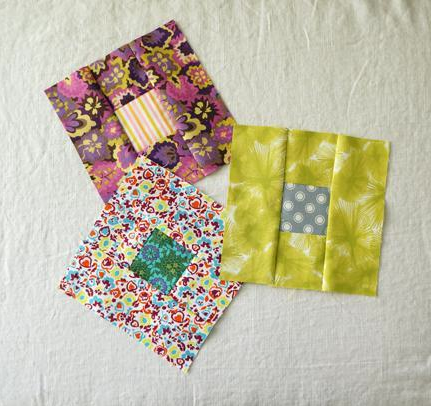 Quilt with Squares