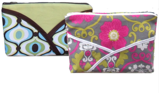 Free Cosmetic Bag Sewing Pattern