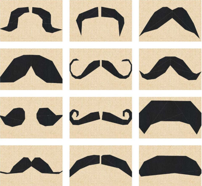 Mustachio Pattern