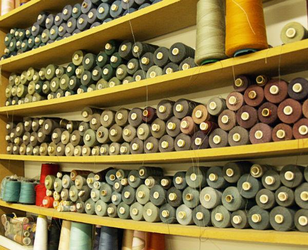 Organizing Thread on Shelf