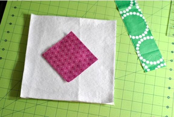 Stitch and Flip Step 1