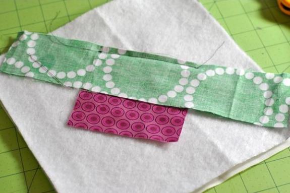 Stitch and Flip Step 2
