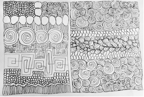 sketching quilting patterns