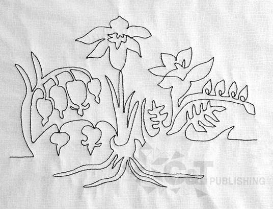 quilt nature motifs