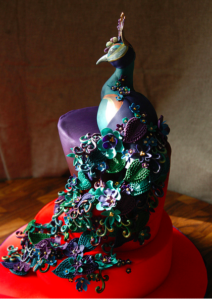 moody peacock