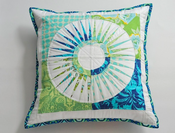 pillow cover mini quilt