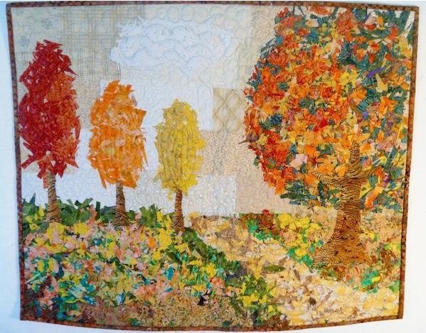 nature mini quilt