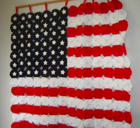 yo yo american flag