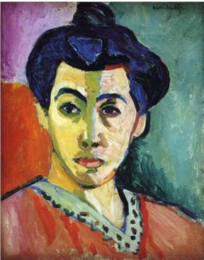 Portrait of Madame Matisse