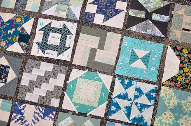 hand pieced quilt