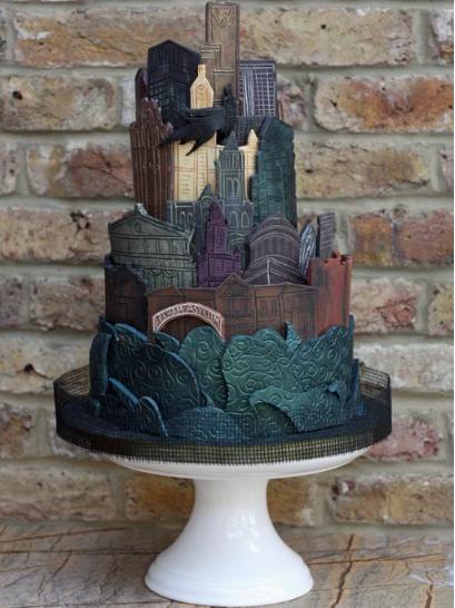 gotham cake
