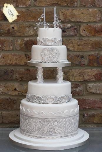stunning 40th cake