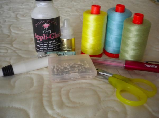 Supplies for Hand Applique